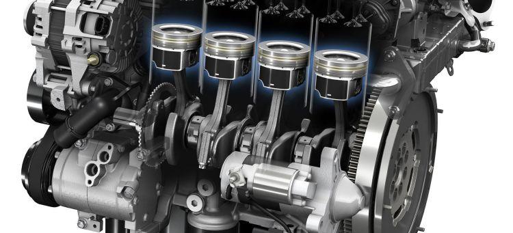 Diesel Motor Skyactiv Ilustracion