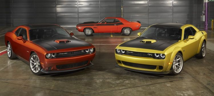 Dodge Challenger 50 Aniversario P