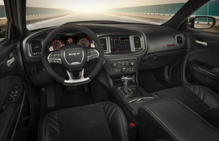 The Race Inspired Interior Of The Dodge Charger Srt Hellcat Wide