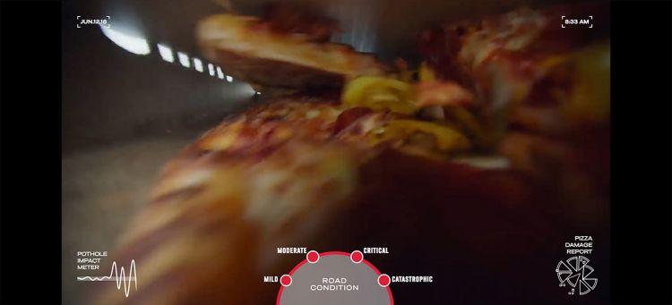 Dominos Pizza Reparar Baches 00