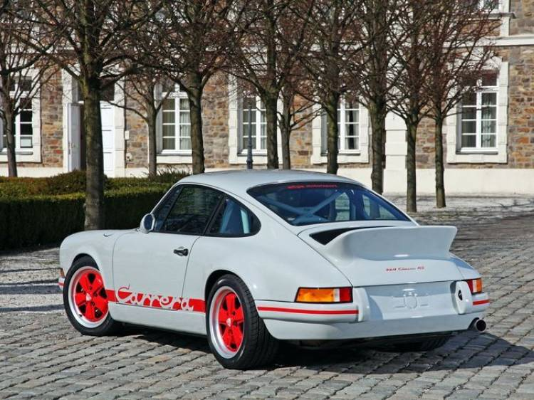 DP 964 Classic RS, un Carrera 2.7 RS a partir de un moderno Porsche 911 964