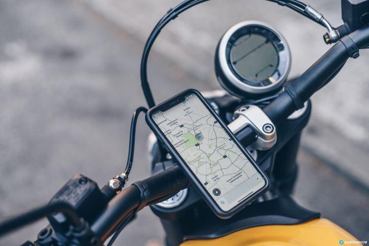 Ducati Scramber Quadlock Telefono Movil 5