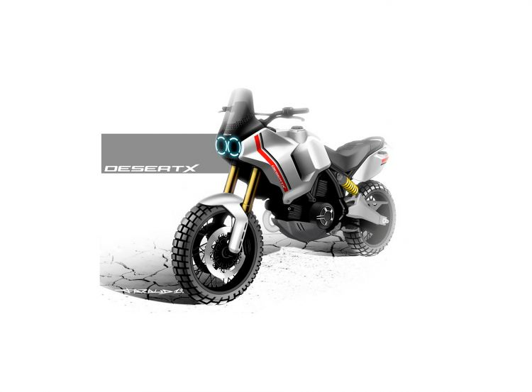 Ducati Scrambler Desert X Portada