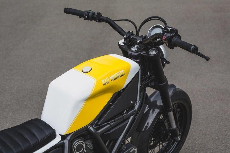 Ducati Scrambler Modified Dm 3