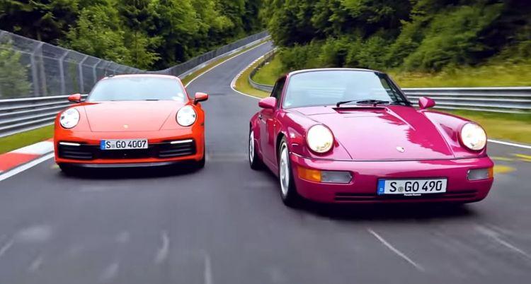 Duelo Porsche 911 Nurburgring 0919 01