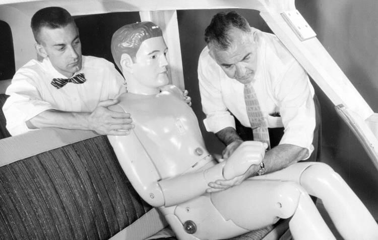 1960 crash test dummy