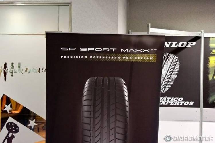 Dunlop SP SportMaxx TT, presentación y prueba en el Stadium Race (I)