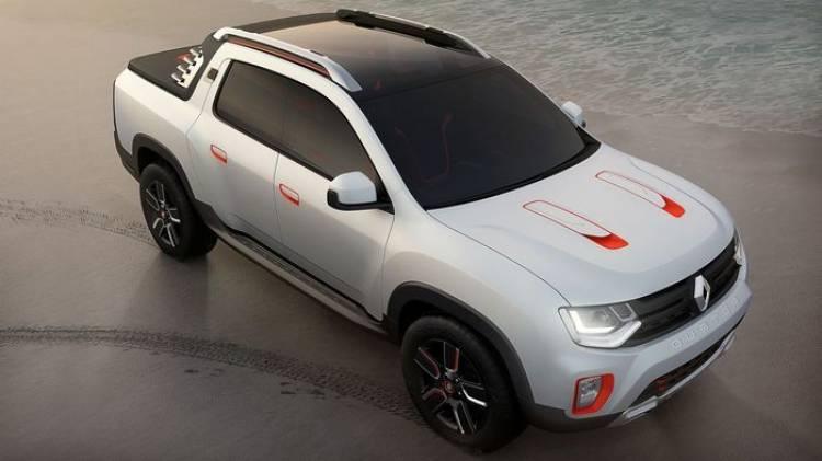 Renault Duster Oroch Concept, Dacia se lanza a las pick-up