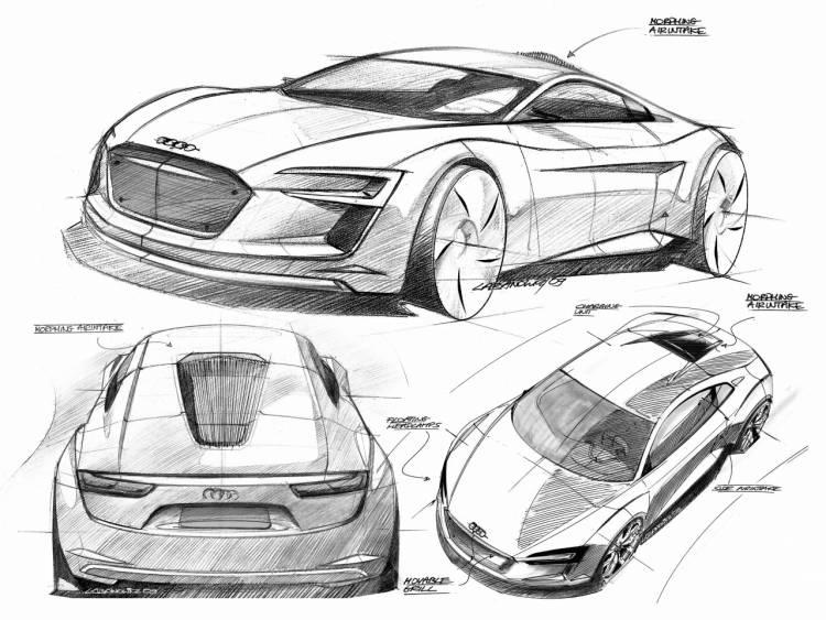Audi e-tron Concept (Frankfurt 2009)