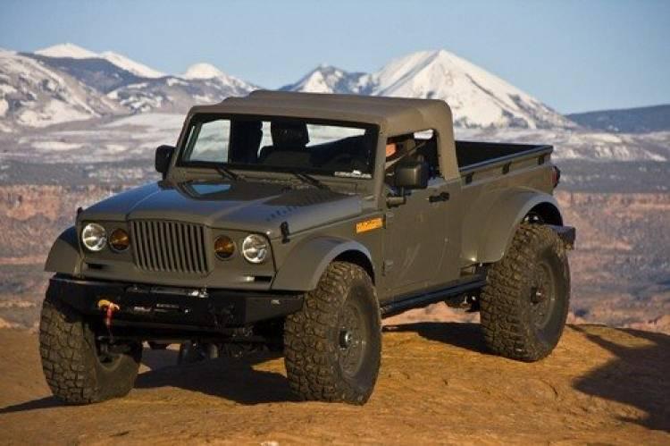 Ocho prototipos Jeep preparados por Mopar en el Easter Safari Jeep