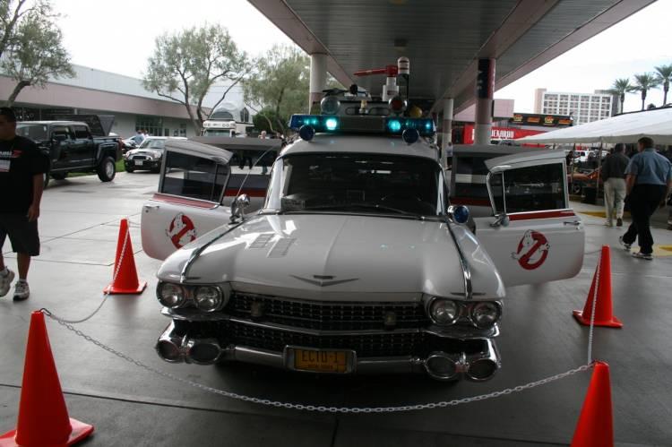 ECTO-1, la ambulancia de Cazafantasmas en el SEMA