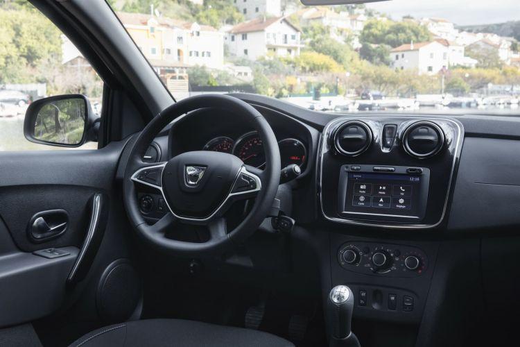 Efecto Dacia Coche Low Cost Sandero Interior