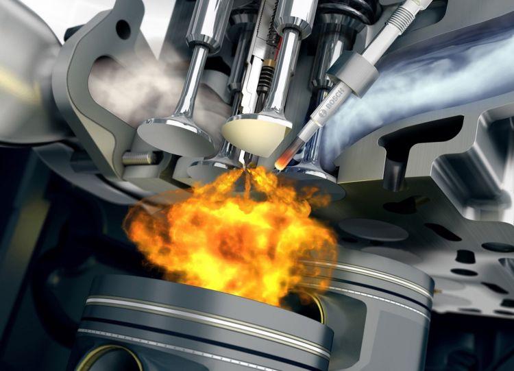 Eficiencia Gasolina Diesel Camara Combustion Bosch