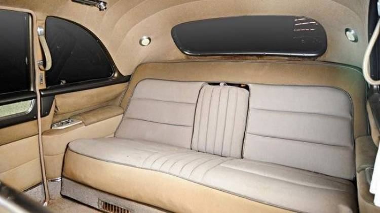 A subasta el precioso 1955 Cadillac Series 75 Fleetwood de Elvis Presley