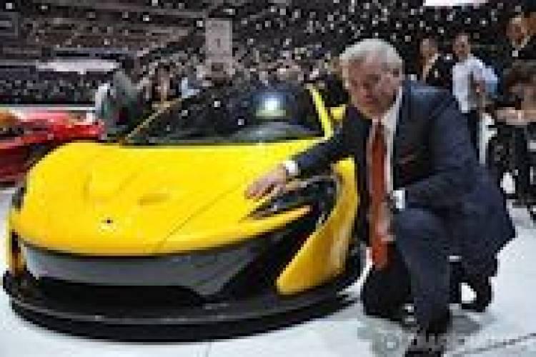 Entrevista a Frank Stephenson, creador del McLaren P1