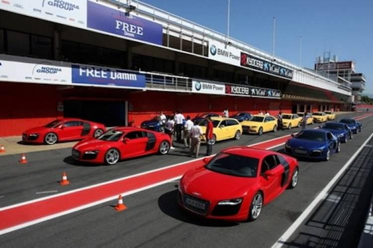Curso de conducción de Audi, Audi R8 y TT