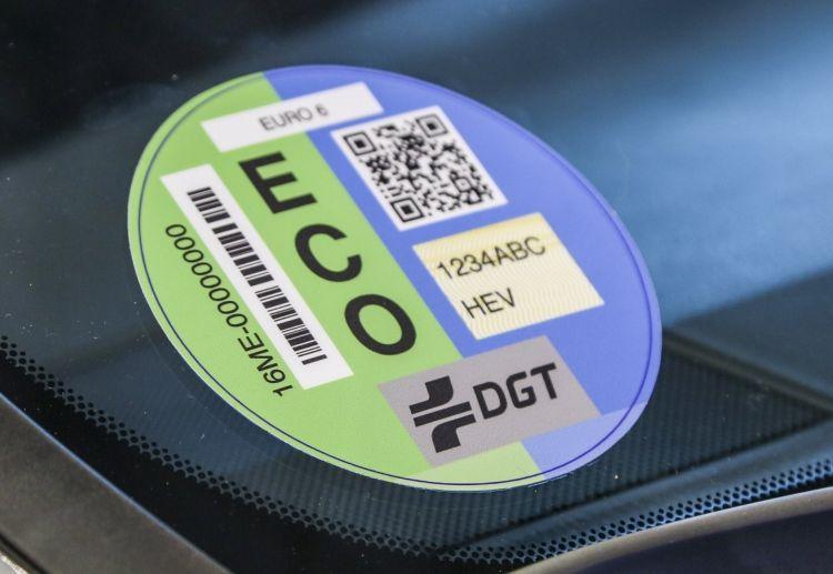 Etiqueta Dgt Medioambiental Eco 2021