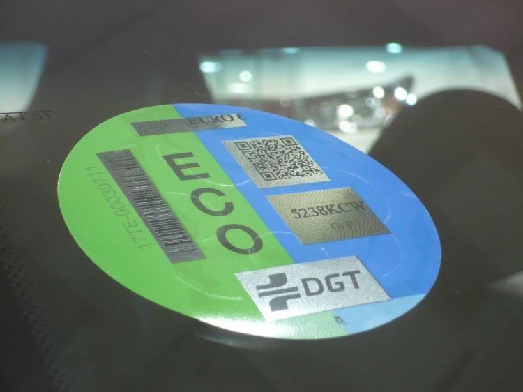 Etiqueta Eco Dgt Medioambiental 2021