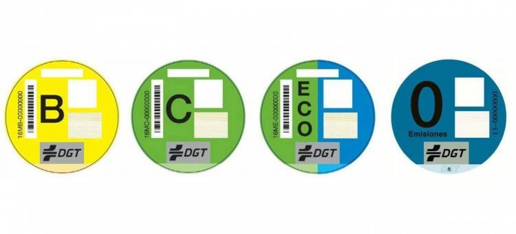 Etiqueta Emisiones Trafico