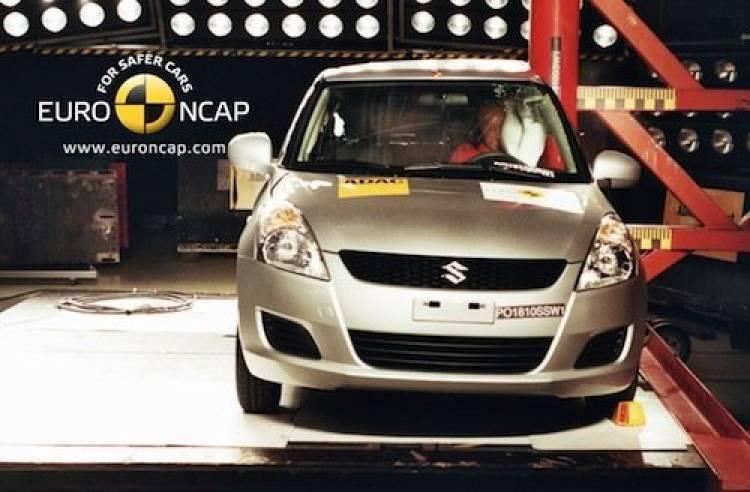EuroNCAP: Suzuki Swift