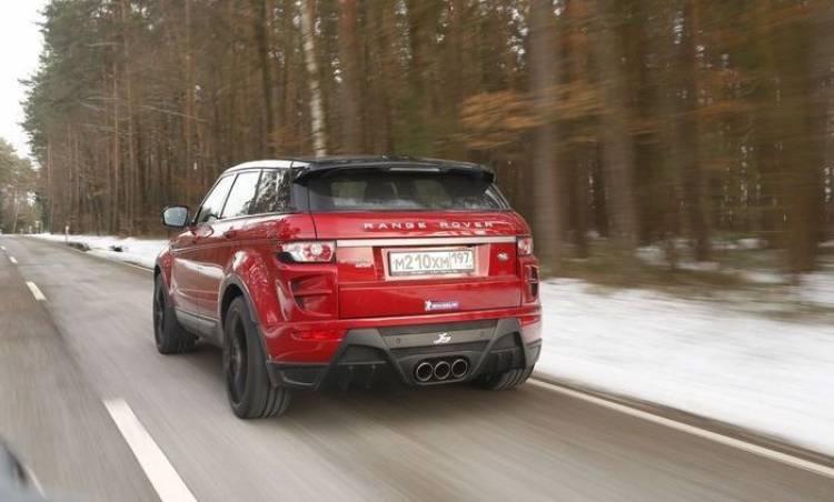 Range Rover Evoque por LARTE Design: un Evoque ruso con personalidad italiana