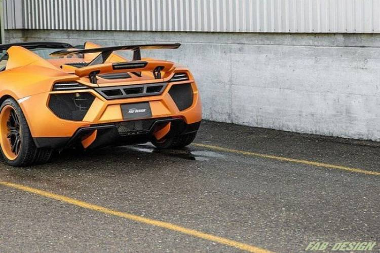 FAB Design McLaren MP4-12C Spider Tenso, exceso, exceso y más exceso