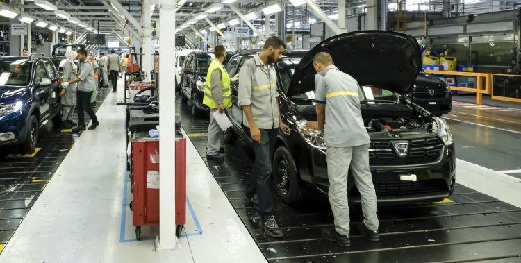 Fabrica Dacia Renault Marruecos Tanger 0619 01