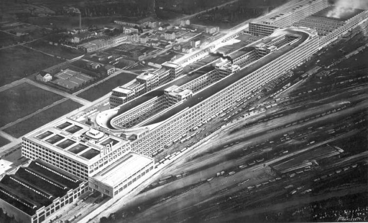 Fabrica Fiat Edificio Lingotto 1928 Vista