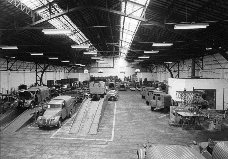 Fabrica Vigo 1958
