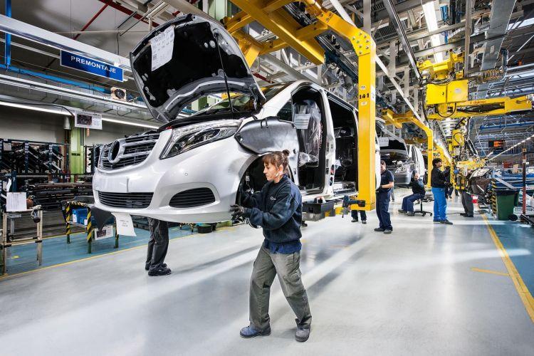 Fabricas Coches Espana Mercedes Benz Vitoria