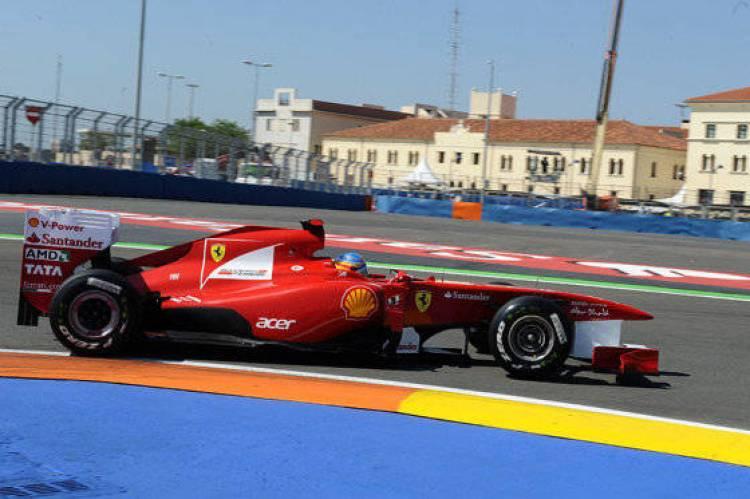Fernando Alonso (Ferrari) - GP de Europa 2011
