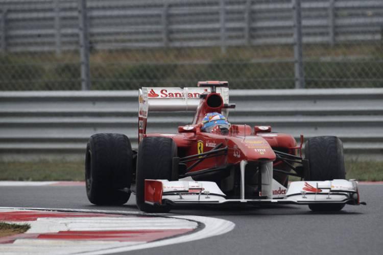 Fernando Alonso en el GP de Corea 2011