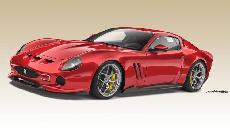 Ferrari 250 Gto By Ares Design 0918 01