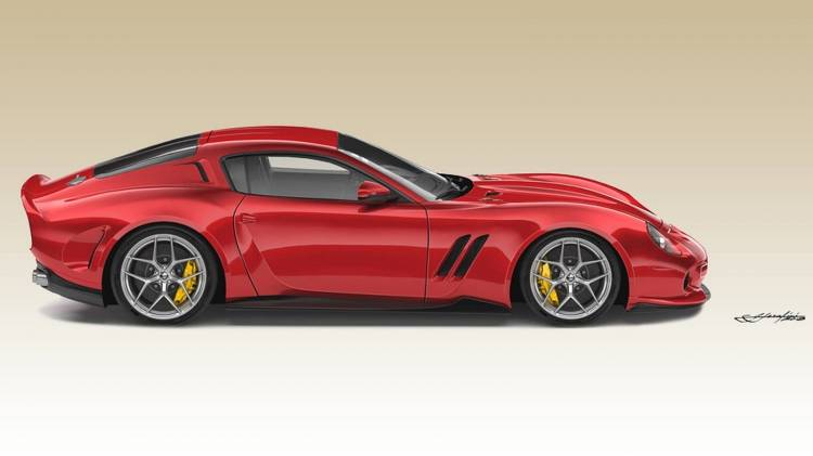 Ferrari 250 Gto By Ares Design 0918 02