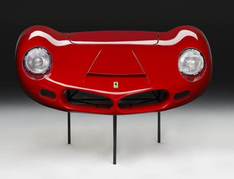 Ferrari 268 Sp Frontal Resultado