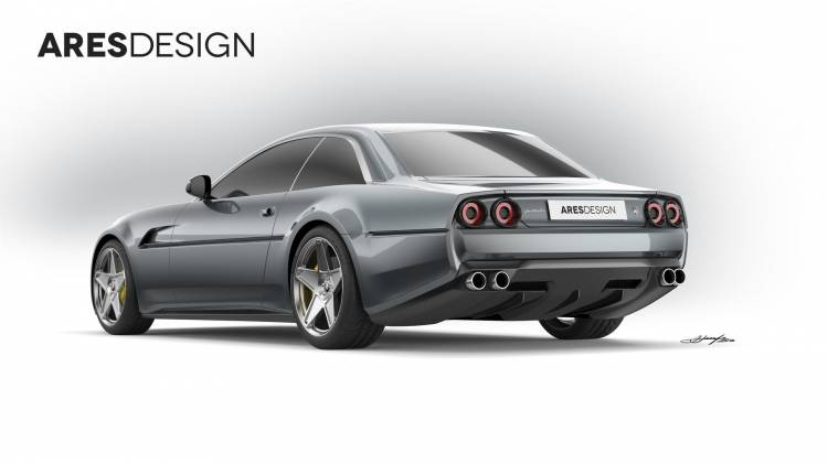 Ferrari 412 Project Pony 5