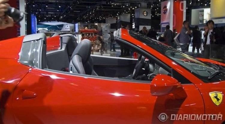 Ferrari 458 Spider en el Salón de Frankfurt