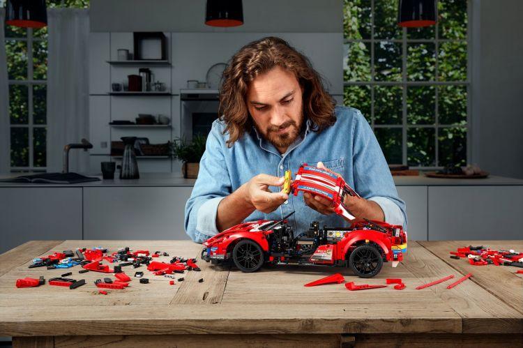 Ferrari 488 Gte Lego 1
