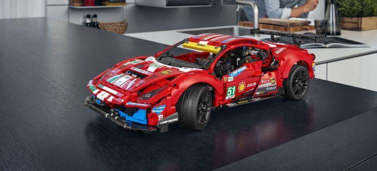 Ferrari 488 Gte Lego P