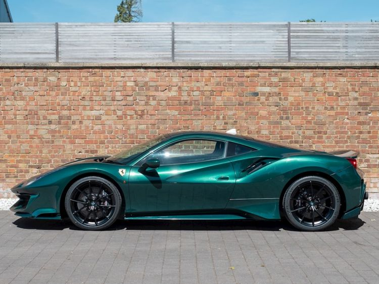 Ferrari 488 Pista Verde Dm 1