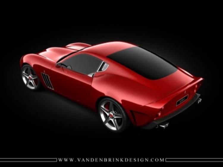 Ferrari 599 GTO Vandenbrink, uno de los coches más bonitos del mundo