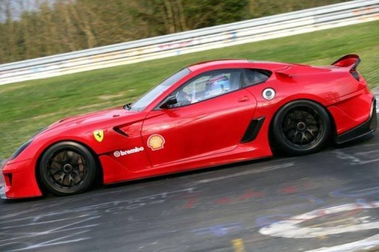 La vuelta de récord al Nürburgring del Ferrari 599XX, vídeo