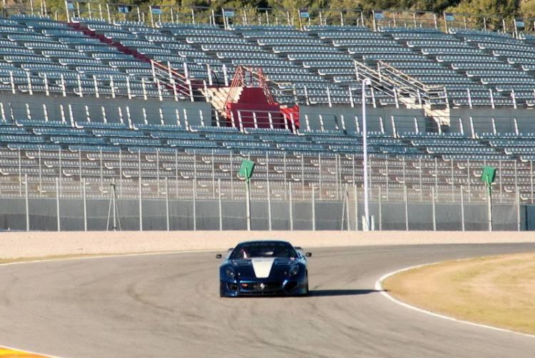 Debút en pista para los Ferrari 599XX