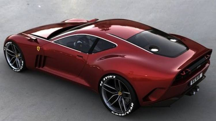 Ferrari 612 GTO, un deportivo conceptual