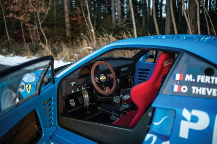 Ferrari F40 Lm Interior 1
