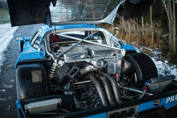 Ferrari F40 Lm Interior Motor 1