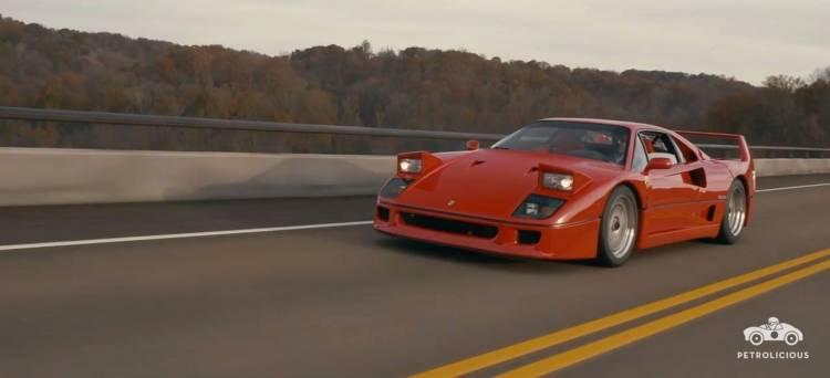 Ferrari F40 Petrolicious P