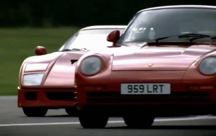 Ferrari F40 vs Porsche 959
