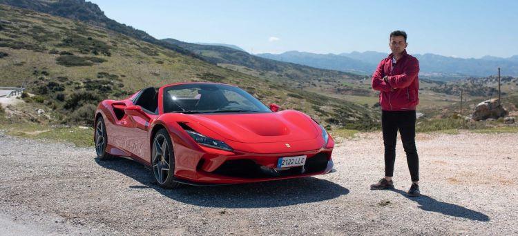 Ferrari F8 Spider Prueba Diariomotor