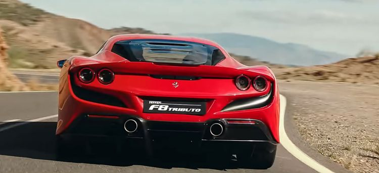 Ferrari F8 Tributo Video 0319 01